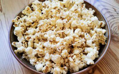 Ras el hanout popcorn